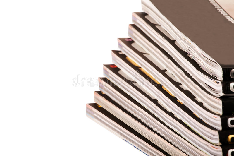 Download Stack of magazines stock image. Image of table, stack - 3845779