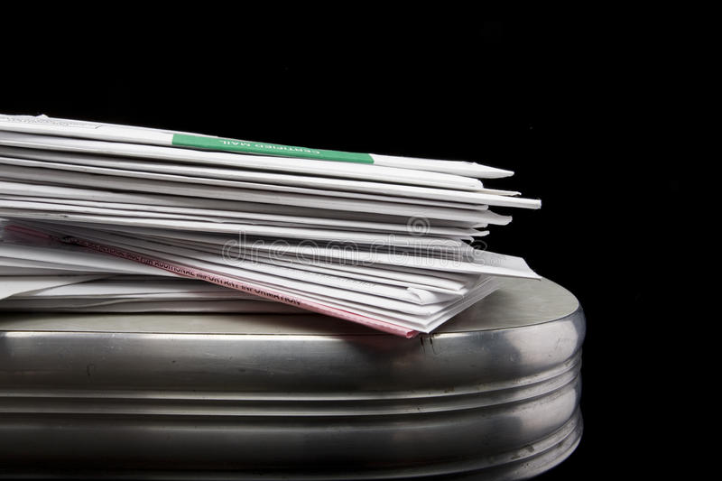 Stack of Mail royalty free stock photos