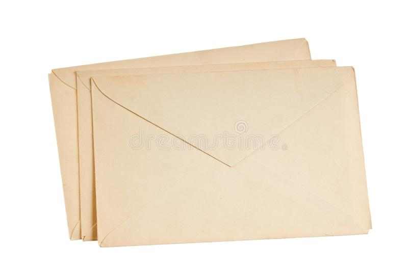 stack of mail envelopes royalty free stock photography