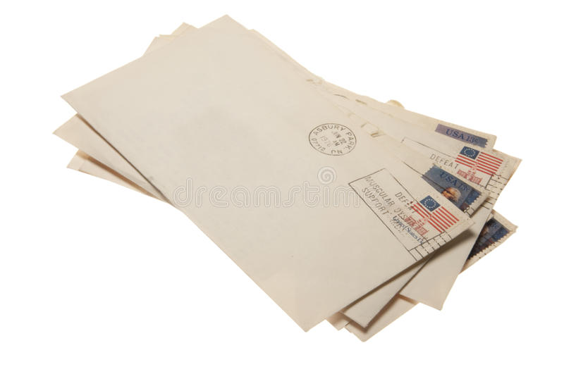 Stack Of Mail Letters Stock Photo. Image Of Correspondance