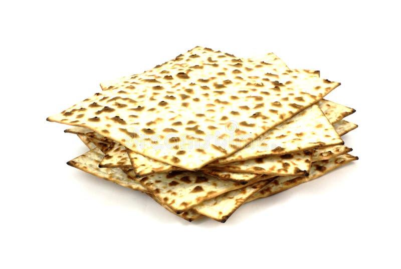 Stack Matzo Crackers royalty free stock photography