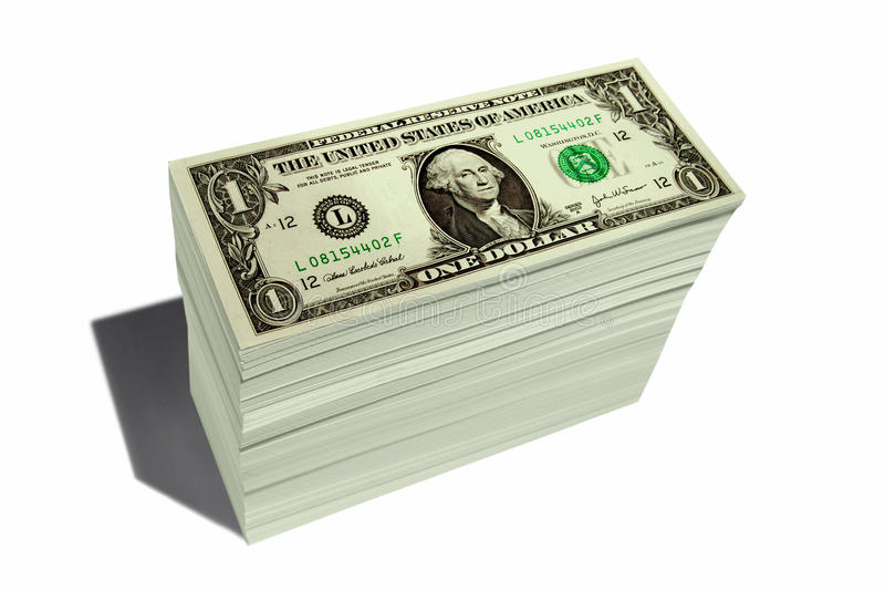 SAVING RETIREMENT FINANCIAL PLANNING WEALTH MANAGEMENT INVESTMENT FUND CAPITAL GROWTH STOCK. Stack of Dollar Bills on White Background Investment Money with stock photos