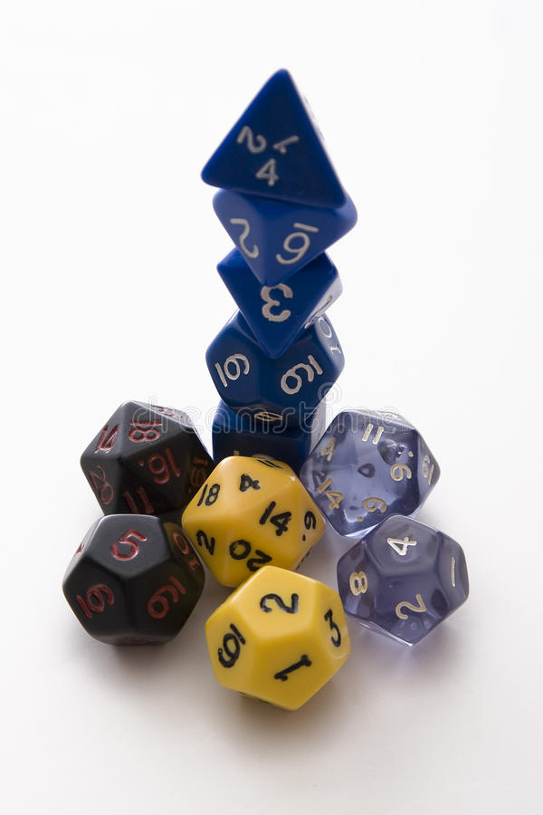 Free Stack-o-Dice Stock Photography - 13226272