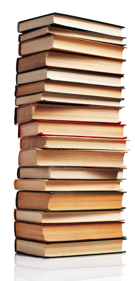 Free Stack Of Books Royalty Free Stock Photo - 15548295