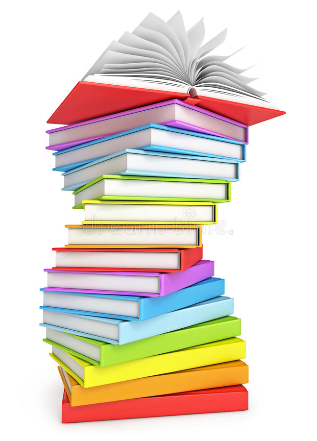 Free Stack Of Books Royalty Free Stock Photography - 28300017
