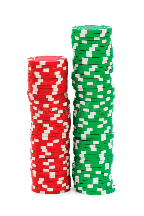 Free Stack Of Chips Isolated Stock Photos - 9038733