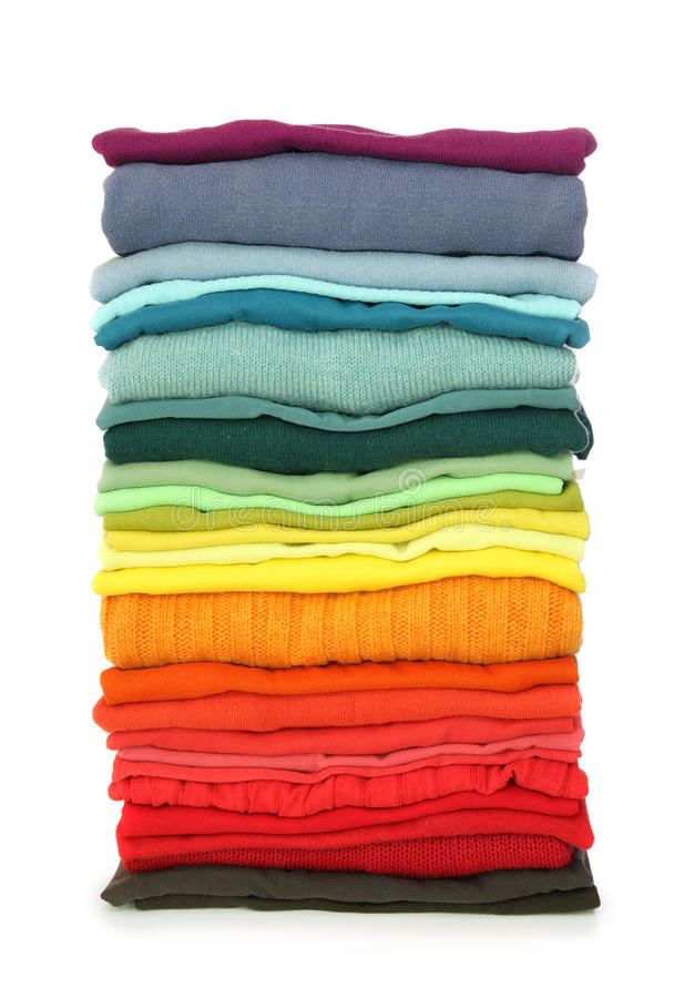 Free Stack Of Clothes Royalty Free Stock Image - 10277546