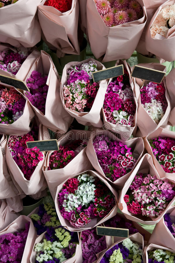 Free Stack Of Flowers Royalty Free Stock Photos - 9774118