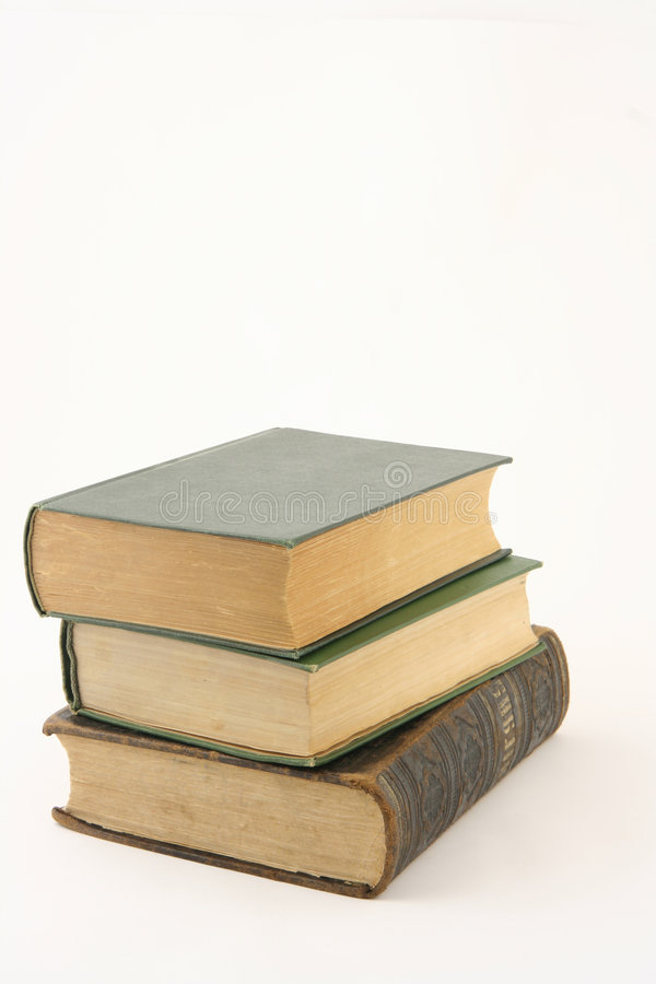 Free Stack Of Old Books Stock Images - 8105614