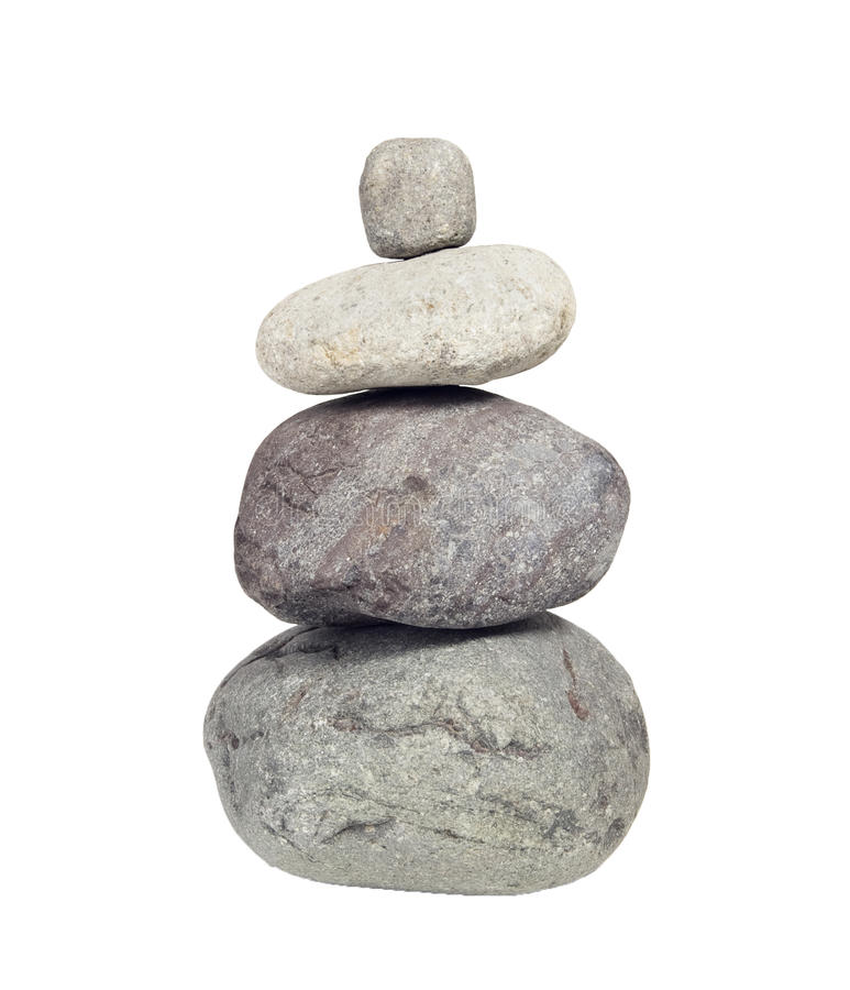 Free Stack Of River Rocks, Cairn Stock Photography - 13361762