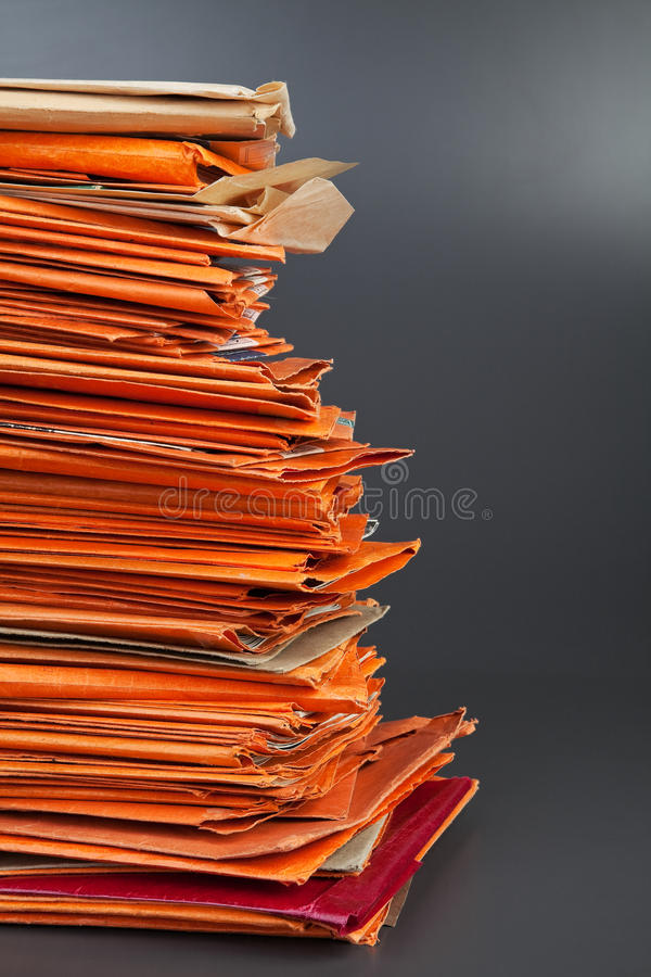 Download Stack of old envelopes stock photo. Image of many, documents - 39506340