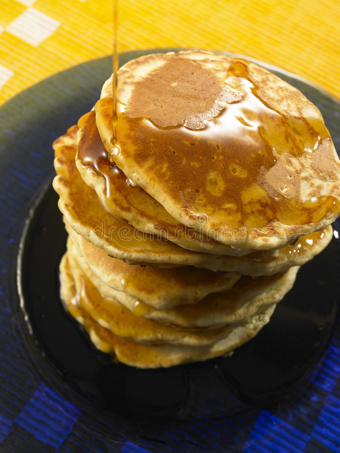 Download Stack of Pancakes stock image. Image of syrup, american - 22471697