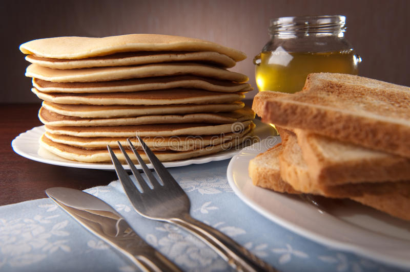 Download Stack of pancakes stock photo. Image of cook, homemade - 23413074