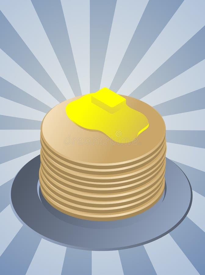 Stack Of Pancakes Stock Image