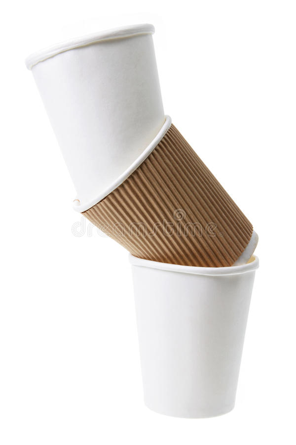 Download Stack of Paper Cups stock image. Image of disposable - 25458759