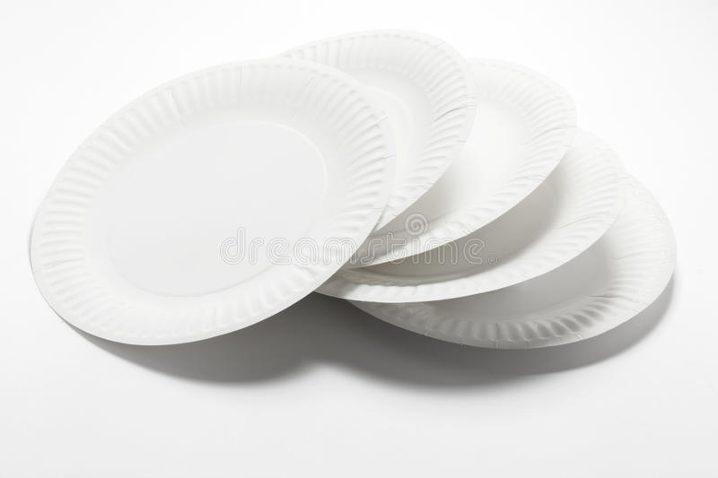 Stack of Paper Plates & Stack of Paper Plates stock photo. Image of disposable - 28661536