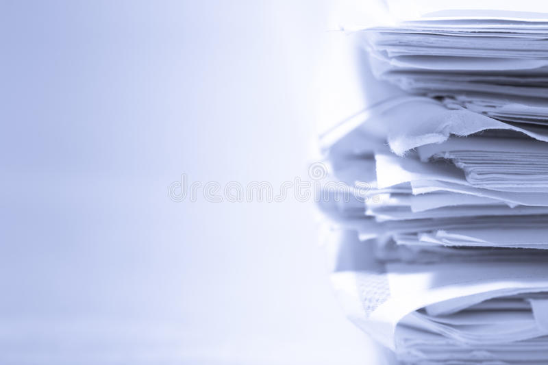 Download Stack of papers stock photo. Image of education, office - 18862588