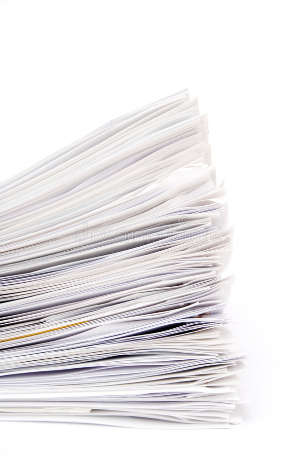 Download Stack Of Papers Royalty Free Stock Photos - Image: 2102468