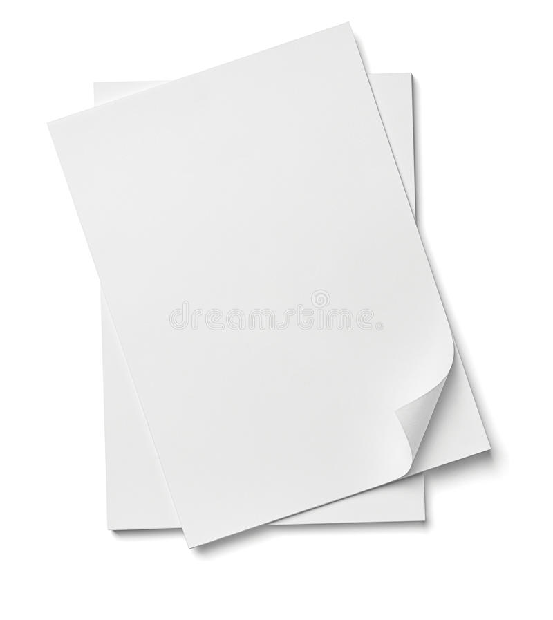 Stack of papers documents office business royalty free stock image