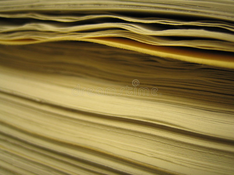stack papierowej fotografia stock
