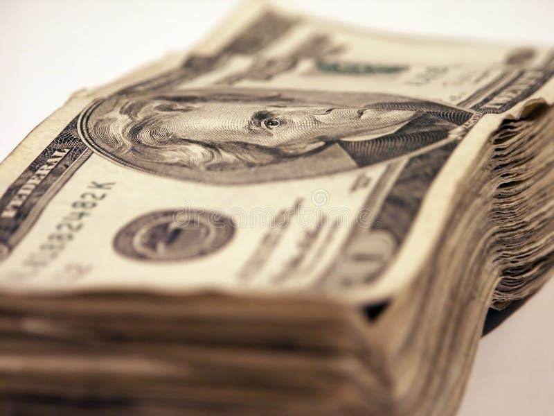 stack pieniężna zdjęcie stock