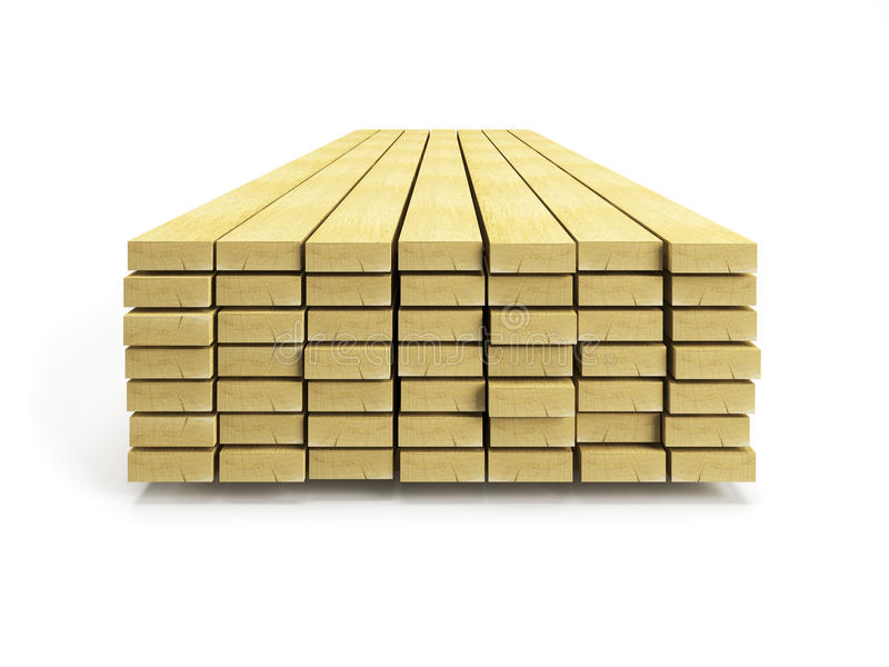Stack Of Planks Stock Photos