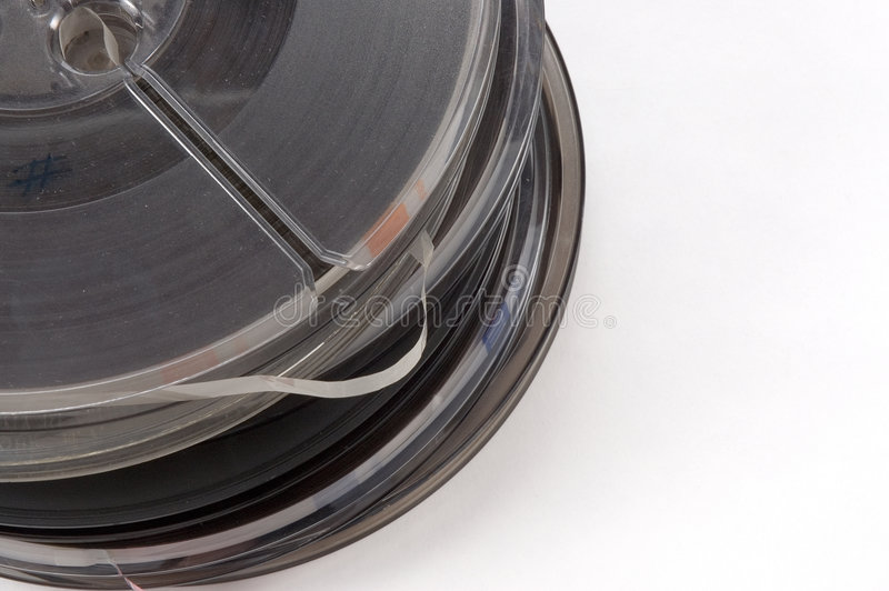 Download Stack Of Reel To Reel Tapes Stock Photo - Image: 295692
