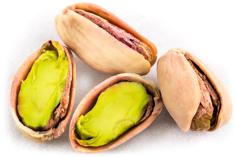 Download A Stack Of Roasted Pistachios On White Stock Image - Image: 42502801