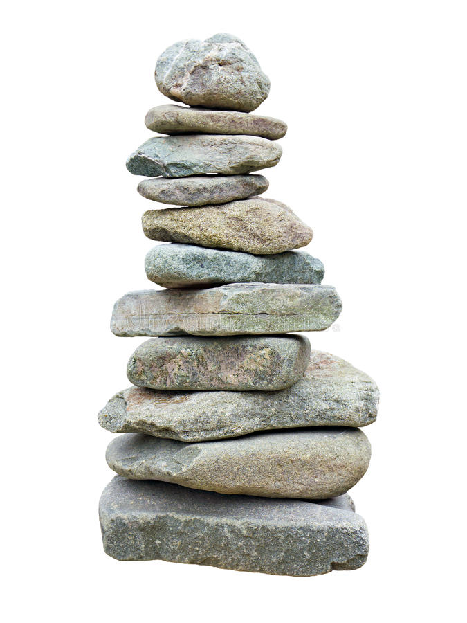Download Stack of rough stones stock photo. Image of isolated - 23567582