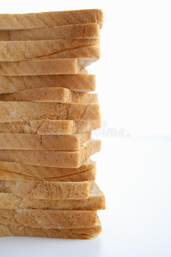 Download Stack of sliced bread stock photo. Image of household - 21590102