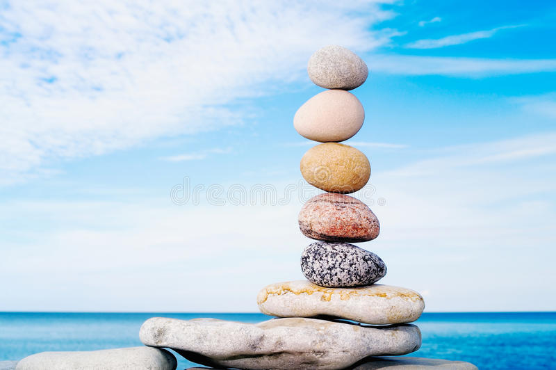 Download Stack Stones stock photo. Image of concepts, boulder - 25370408