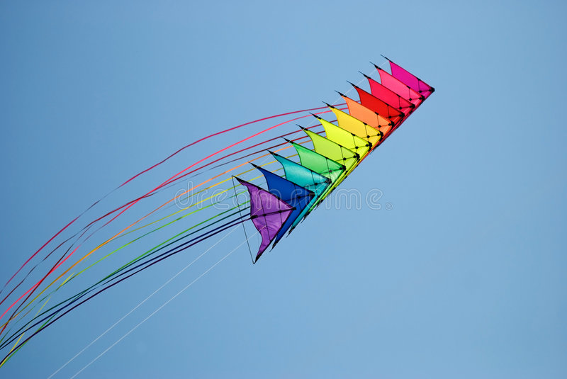 Download Stack of stunt kites stock image. Image of abstract, sport - 7610883