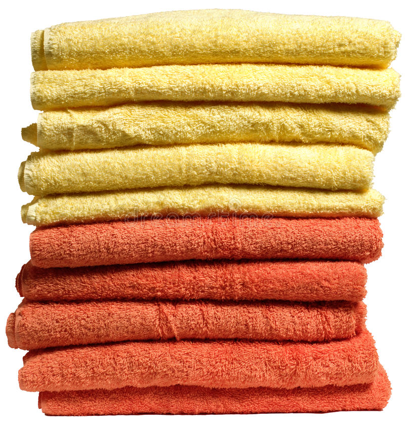 Download Stack Of Towels Royalty Free Stock Image - Image: 12734886