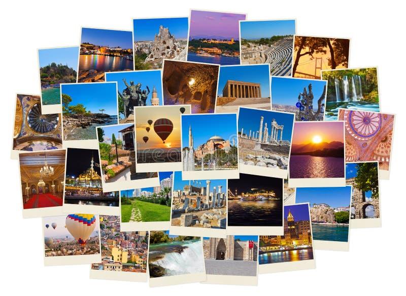 Stack of Turkey travel images stock photo