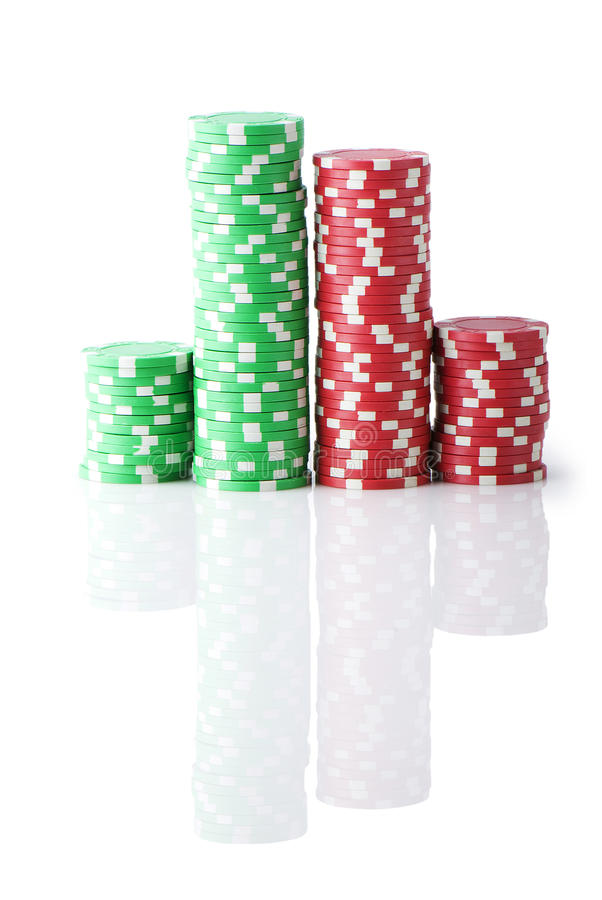 Download Stack Of Various Casino Chips Stock Image - Image: 17451613