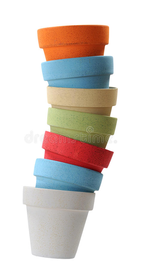 Download Stack of vases stock photo. Image of green, group, reach - 34956426