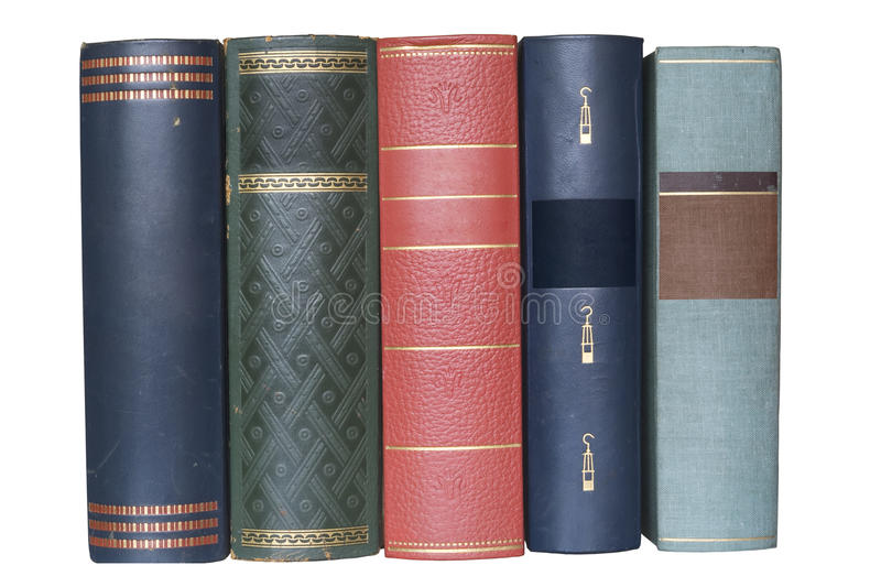 Download Stack of vintage books stock image. Image of classic - 16315271