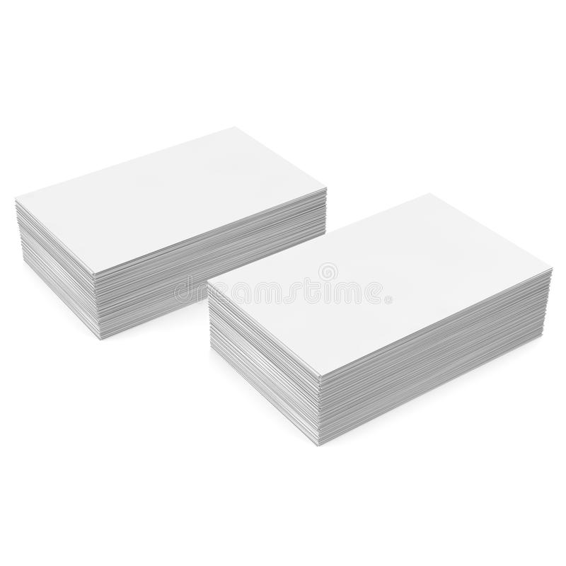 Stack white business card mockup stock illustration download stack white business card mockup stock illustration illustration of market banner colourmoves