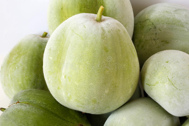 Download Stack winter melon stock image. Image of green, donggua - 76669903