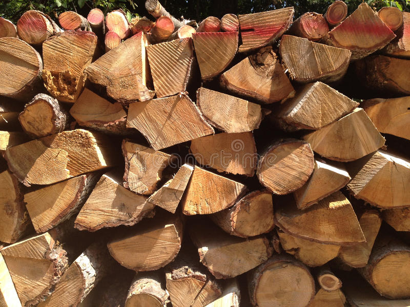 stack of woods royalty free stock photography