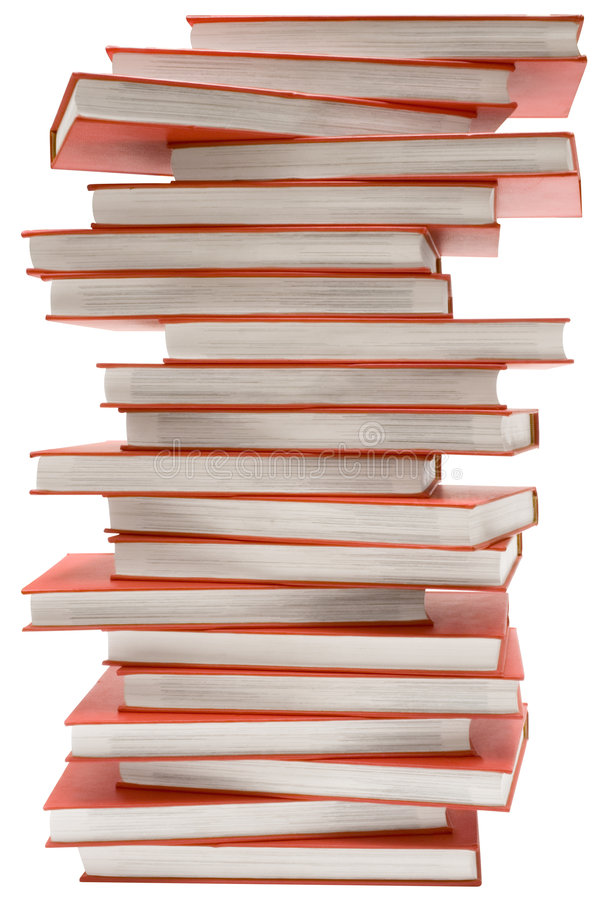 Download Stacked Encyclopedia W/ Path Stock Image - Image: 830867