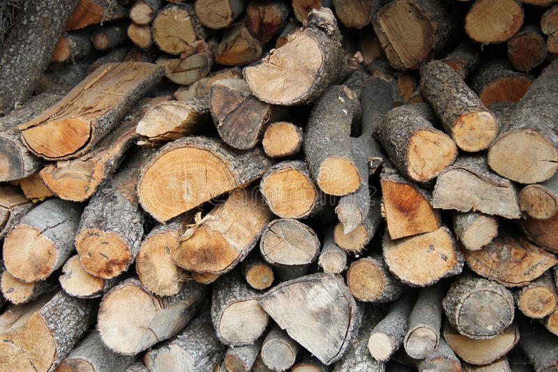 Download Stacked Firewood Royalty Free Stock Photos - Image: 26627468