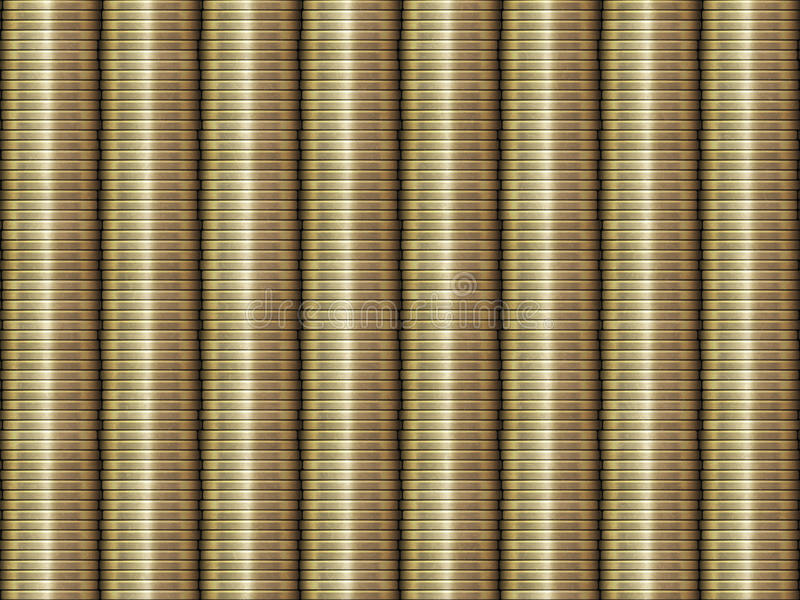 Download Stacked Golden Coins Background Royalty Free Stock Photography - Image: 24414337