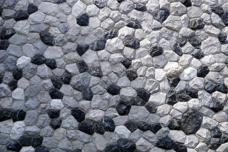 Gray stone Wall for texture backgroun. Stacked gray stone Wall for texture backgroun stock image