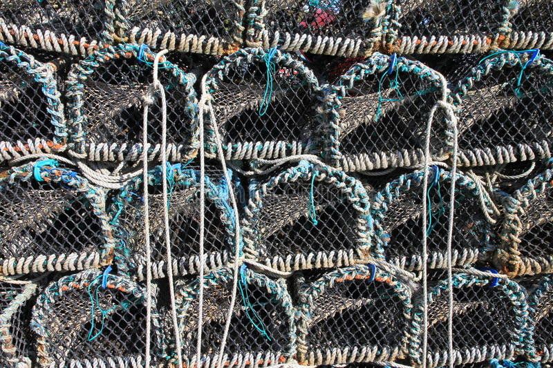 Download Stacked Lobster Pots stock photo. Image of stacked, pots - 41868816