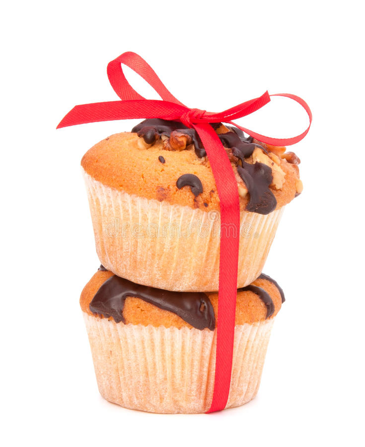 Download Stacked muffins stock image. Image of delicious, freshly - 25098133