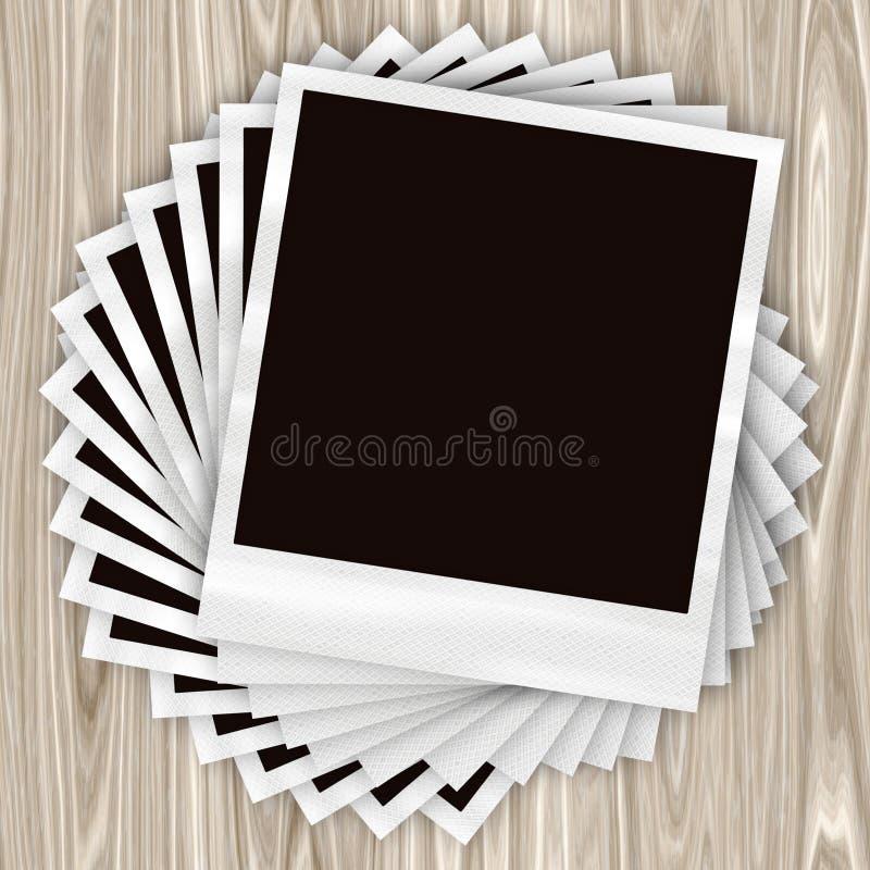 Stacked Photos Stock Photos