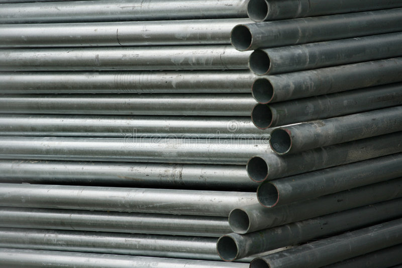 Download Stacked pipes stock photo. Image of grime, oxidize, grey - 342900