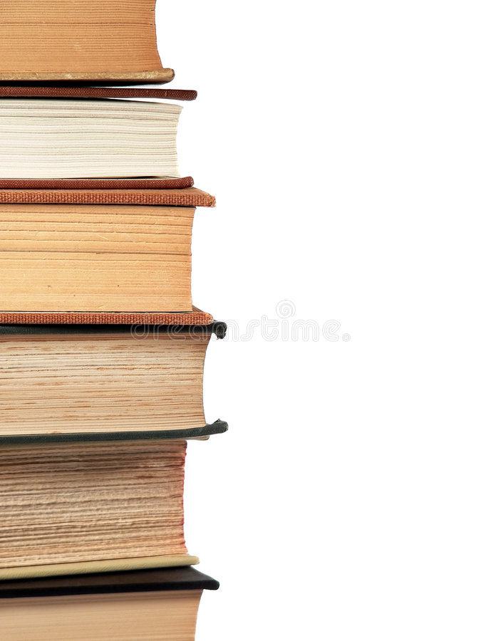 Download Stacked Reference Books stock photo. Image of bookstore - 1363986