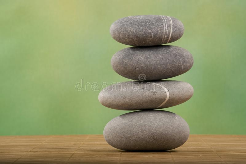 Stacked stone stock photography